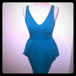 Bebe fitted tank dress 👗 with exposed zipper